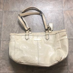 White Coach bag